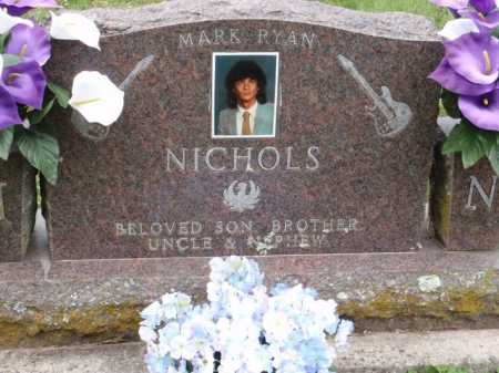 NICHOLS, MARK RYAN - Boone County, Arkansas   MARK RYAN NICHOLS - Arkansas Gravestone Photos