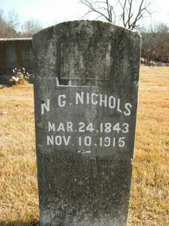 NICHOLS, N.G. - Boone County, Arkansas | N.G. NICHOLS - Arkansas Gravestone Photos