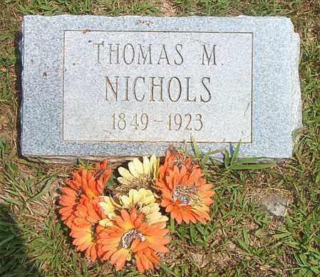 NICHOLS, THOMAS  M. - Boone County, Arkansas | THOMAS  M. NICHOLS - Arkansas Gravestone Photos