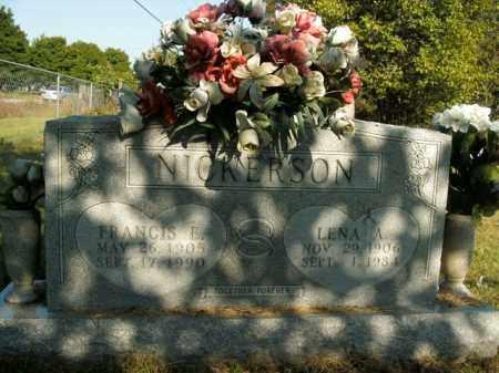 NICKERSON, LENA ALICE - Boone County, Arkansas | LENA ALICE NICKERSON - Arkansas Gravestone Photos