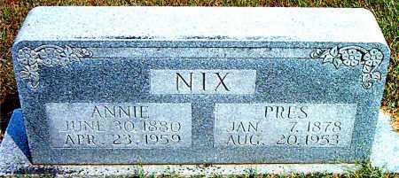 NIX, MOSES PRESTON - Boone County, Arkansas | MOSES PRESTON NIX - Arkansas Gravestone Photos