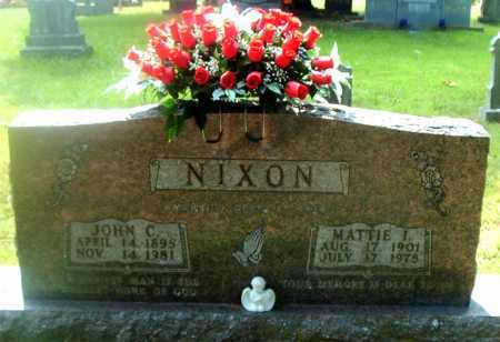 NIXON, MATTIE I - Boone County, Arkansas | MATTIE I NIXON - Arkansas Gravestone Photos