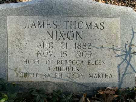 NIXON, JAMES THOMAS - Boone County, Arkansas   JAMES THOMAS NIXON - Arkansas Gravestone Photos
