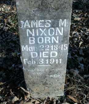 NIXON, JAMES M. - Boone County, Arkansas | JAMES M. NIXON - Arkansas Gravestone Photos