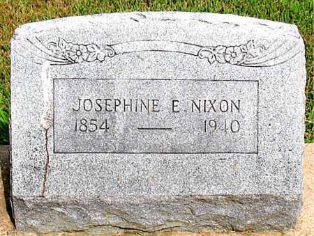 NIXON, JOSEPHINE E - Boone County, Arkansas   JOSEPHINE E NIXON - Arkansas Gravestone Photos