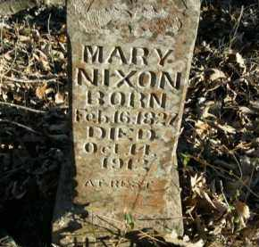 NIXON, MARY - Boone County, Arkansas | MARY NIXON - Arkansas Gravestone Photos