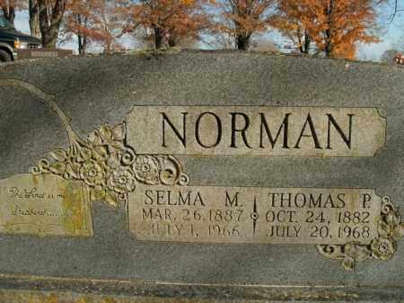 NORMAN, THOMAS P. - Boone County, Arkansas   THOMAS P. NORMAN - Arkansas Gravestone Photos