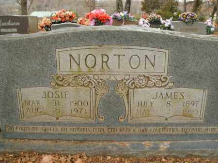 NORTON, JOSIE - Boone County, Arkansas | JOSIE NORTON - Arkansas Gravestone Photos