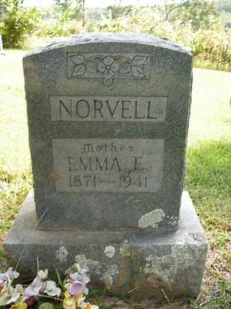 NORVELL, EMMA ELIZABETH - Boone County, Arkansas | EMMA ELIZABETH NORVELL - Arkansas Gravestone Photos