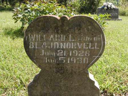 NORVELL, WILLARD L. - Boone County, Arkansas | WILLARD L. NORVELL - Arkansas Gravestone Photos