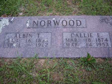 NORWOOD, CALLIE E. - Boone County, Arkansas   CALLIE E. NORWOOD - Arkansas Gravestone Photos