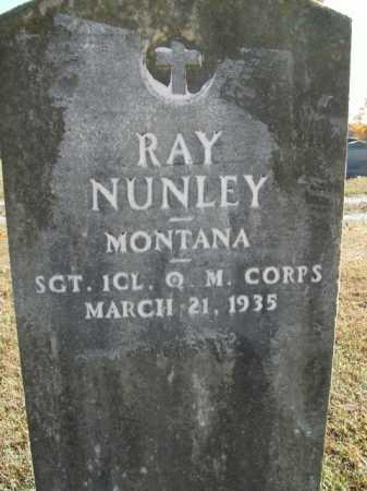 NUNLEY  (VETERAN), RAY - Boone County, Arkansas | RAY NUNLEY  (VETERAN) - Arkansas Gravestone Photos