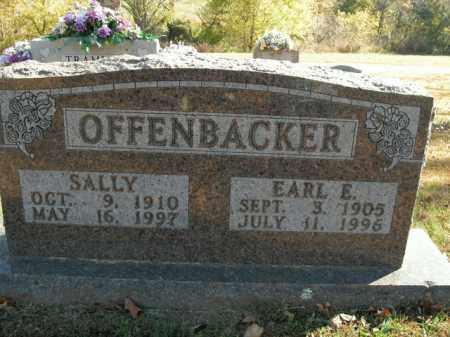 OFFENBACKER, EARL E. - Boone County, Arkansas | EARL E. OFFENBACKER - Arkansas Gravestone Photos
