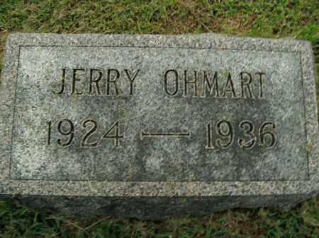 OHMART, JERRY - Boone County, Arkansas | JERRY OHMART - Arkansas Gravestone Photos