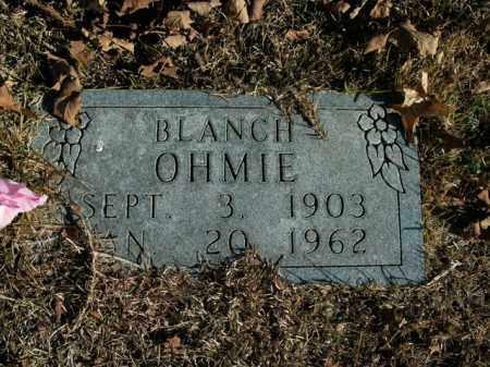 OHMIE, BLANCH A - Boone County, Arkansas | BLANCH A OHMIE - Arkansas Gravestone Photos