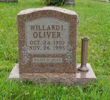 OLIVER, WILLARD I. - Boone County, Arkansas | WILLARD I. OLIVER - Arkansas Gravestone Photos