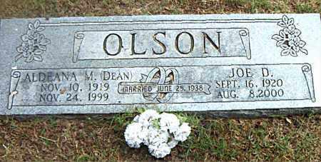 OLSON, ALDEANA M.  (DEAN) - Boone County, Arkansas   ALDEANA M.  (DEAN) OLSON - Arkansas Gravestone Photos