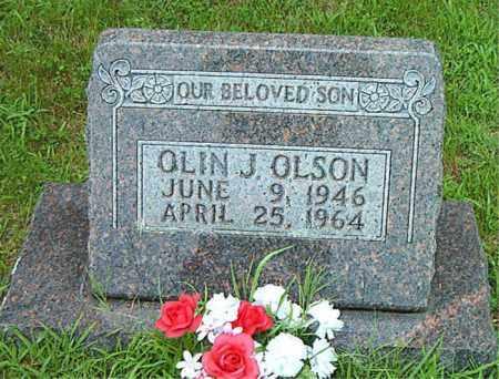OLSON, OLIN JAMES - Boone County, Arkansas | OLIN JAMES OLSON - Arkansas Gravestone Photos