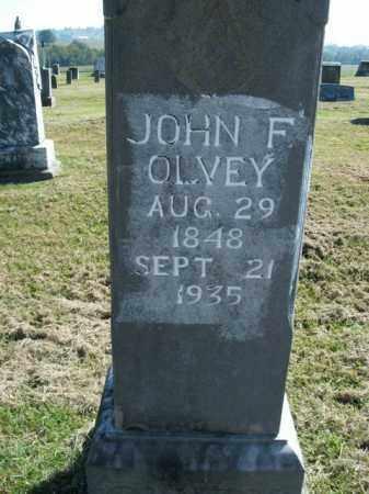 OLVEY, JOHN FRANKLIN - Boone County, Arkansas | JOHN FRANKLIN OLVEY - Arkansas Gravestone Photos