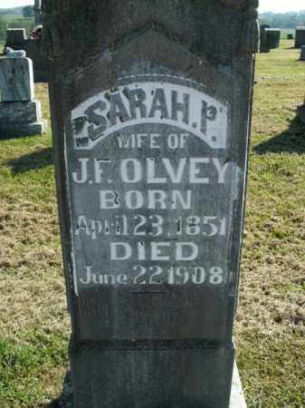 OLVEY, SARAH PRISCILLA - Boone County, Arkansas | SARAH PRISCILLA OLVEY - Arkansas Gravestone Photos