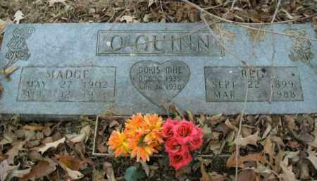 O'QUINN, MADGE - Boone County, Arkansas | MADGE O'QUINN - Arkansas Gravestone Photos