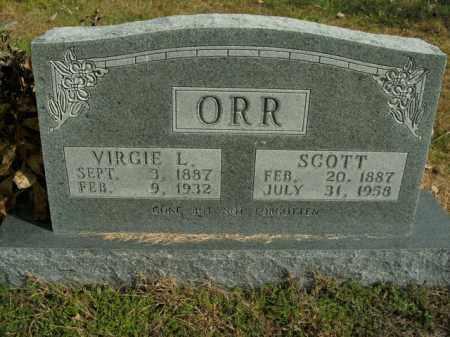 ORR, VIRGIE L. - Boone County, Arkansas | VIRGIE L. ORR - Arkansas Gravestone Photos