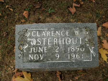 OSTERHOUT, CLARENCE W. - Boone County, Arkansas   CLARENCE W. OSTERHOUT - Arkansas Gravestone Photos