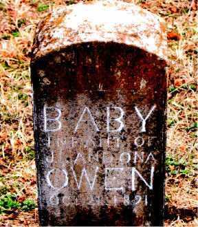 OWEN, INFANT - Boone County, Arkansas   INFANT OWEN - Arkansas Gravestone Photos