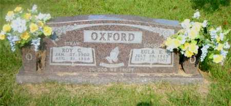 OXFORD, ROY C. - Boone County, Arkansas | ROY C. OXFORD - Arkansas Gravestone Photos