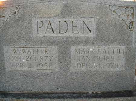PADEN, WILLIAM WALTER - Boone County, Arkansas | WILLIAM WALTER PADEN - Arkansas Gravestone Photos