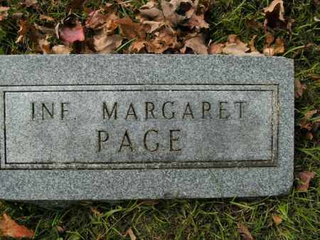 PAGE, MARGARET - Boone County, Arkansas | MARGARET PAGE - Arkansas Gravestone Photos