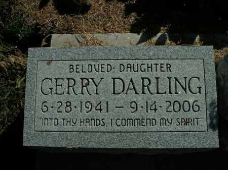 DARLING PALESE, GERRY - Boone County, Arkansas   GERRY DARLING PALESE - Arkansas Gravestone Photos