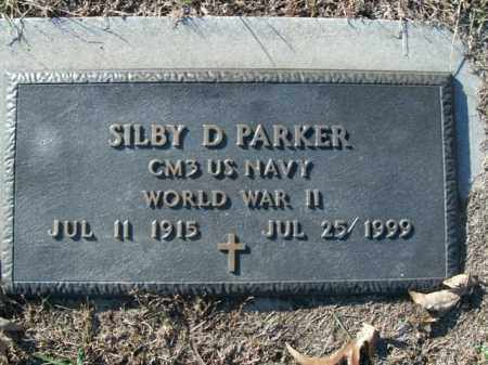 PARKER  (VETERAN WWII), SILBY D. - Boone County, Arkansas | SILBY D. PARKER  (VETERAN WWII) - Arkansas Gravestone Photos