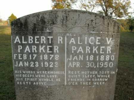 PARKER, ALICE VICTORIA - Boone County, Arkansas | ALICE VICTORIA PARKER - Arkansas Gravestone Photos