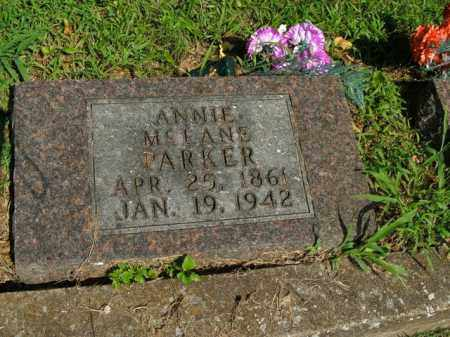 PARKER, ANNIE - Boone County, Arkansas   ANNIE PARKER - Arkansas Gravestone Photos