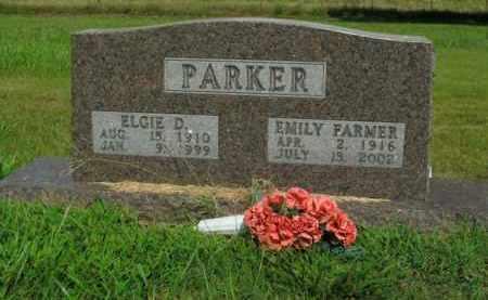 PARKER, ELGIE D. - Boone County, Arkansas | ELGIE D. PARKER - Arkansas Gravestone Photos