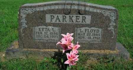 PARKER, ETTA L. - Boone County, Arkansas   ETTA L. PARKER - Arkansas Gravestone Photos