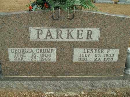 CRUMP PARKER, GEORGIA - Boone County, Arkansas | GEORGIA CRUMP PARKER - Arkansas Gravestone Photos