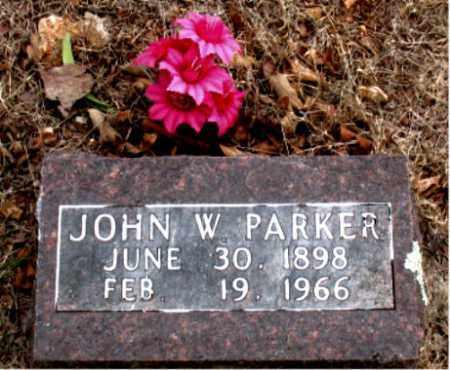 PARKER, JOHN  W. - Boone County, Arkansas | JOHN  W. PARKER - Arkansas Gravestone Photos