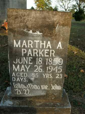 PARKER, MARTHA A. - Boone County, Arkansas | MARTHA A. PARKER - Arkansas Gravestone Photos