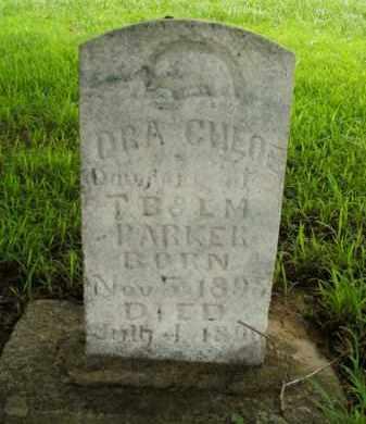 PARKER, ORA CHLOE - Boone County, Arkansas | ORA CHLOE PARKER - Arkansas Gravestone Photos