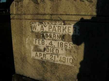 PARKER, W.A. - Boone County, Arkansas | W.A. PARKER - Arkansas Gravestone Photos