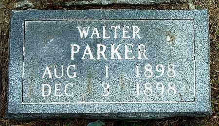 PARKER, WALTER - Boone County, Arkansas   WALTER PARKER - Arkansas Gravestone Photos