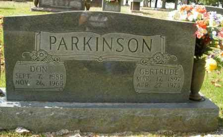 PARKINSON, DON - Boone County, Arkansas | DON PARKINSON - Arkansas Gravestone Photos