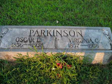 PARKINSON, VIRGINIA C. - Boone County, Arkansas | VIRGINIA C. PARKINSON - Arkansas Gravestone Photos