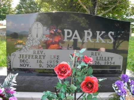 PARKS  (VETERAN), JEFFEREY LEE - Boone County, Arkansas   JEFFEREY LEE PARKS  (VETERAN) - Arkansas Gravestone Photos