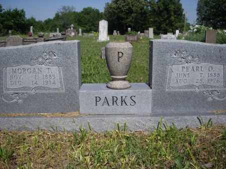 PARKS, MORGAN T. - Boone County, Arkansas | MORGAN T. PARKS - Arkansas Gravestone Photos