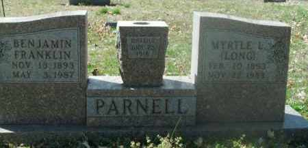 PARNELL, BENJAMIN FRANKLIN - Boone County, Arkansas | BENJAMIN FRANKLIN PARNELL - Arkansas Gravestone Photos