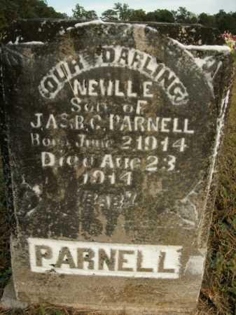 PARNELL, NEWLL E. - Boone County, Arkansas   NEWLL E. PARNELL - Arkansas Gravestone Photos