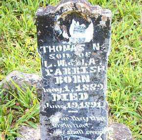 PARRISH, THOMAS  N. - Boone County, Arkansas | THOMAS  N. PARRISH - Arkansas Gravestone Photos